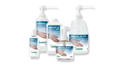 gel hydroalcoolique aniosgel 85 npc. Black Bedroom Furniture Sets. Home Design Ideas